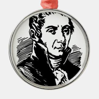Volta Alessandro Silbernes Ornament