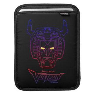 Voltron   Blau-Rote Steigungs-Kopf-Kontur Sleeve Für iPads