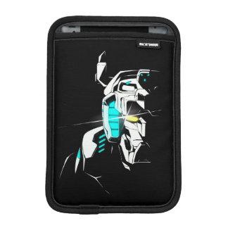 Voltron   glänzende Augen-Silhouette iPad Mini Sleeve