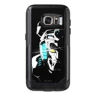 Voltron   glänzende Augen-Silhouette OtterBox Samsung Galaxy S7 Hülle