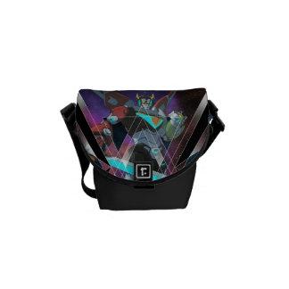 Voltron | intergalaktische Voltron Grafik Kurier Taschen