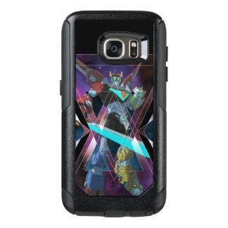 Voltron   intergalaktische Voltron Grafik OtterBox Samsung Galaxy S7 Hülle