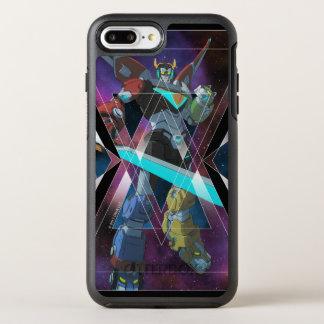 Voltron | intergalaktische Voltron Grafik OtterBox Symmetry iPhone 8 Plus/7 Plus Hülle
