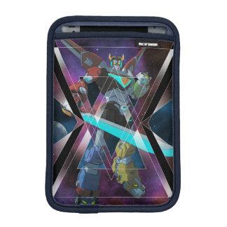 Voltron   intergalaktische Voltron Grafik Sleeve Für iPad Mini