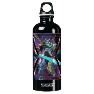 Voltron | intergalaktische Voltron Grafik Wasserflasche