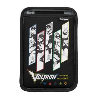 Voltron   Klassiker-Pilothalbtonplatten iPad Mini Sleeve