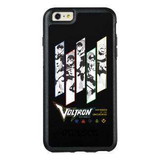 Voltron   Klassiker-Pilothalbtonplatten OtterBox iPhone 6/6s Plus Hülle