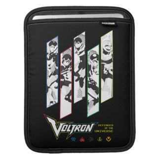 Voltron   Klassiker-Pilothalbtonplatten Sleeve Für iPads