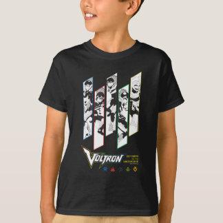 Voltron   Klassiker-Pilothalbtonplatten T-Shirt