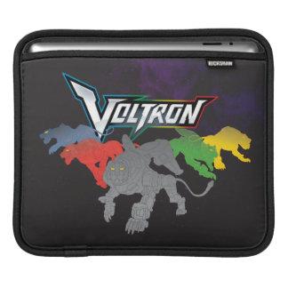 Voltron   Löwe-Aufladung iPad Sleeve