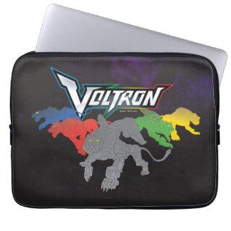 Voltron   Löwe-Aufladung Laptop Sleeve