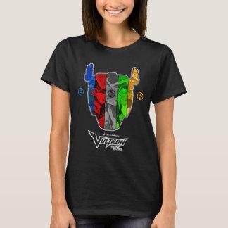 Voltron   Piloten in Voltron Kopf T-Shirt
