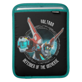 Voltron | roter Löwe-Plasma-Strahl iPad Sleeve