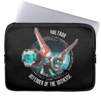 Voltron | roter Löwe-Plasma-Strahl Laptopschutzhülle