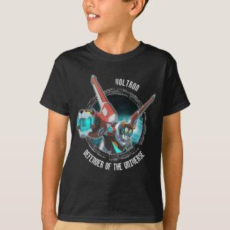 Voltron   roter Löwe-Plasma-Strahl T-Shirt
