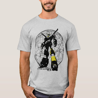 Voltron   Silhouette über Karte T-Shirt