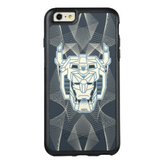 Voltron   Voltron blaue und weiße HauptKontur OtterBox iPhone 6/6s Plus Hülle