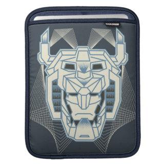 Voltron   Voltron blaue und weiße HauptKontur Sleeve Für iPads