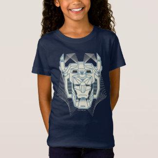 Voltron   Voltron blaue und weiße HauptKontur T-Shirt