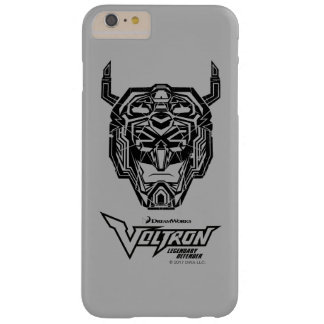 Voltron   Voltron Kopf zerbrochene Kontur Barely There iPhone 6 Plus Hülle