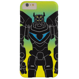 Voltron   Voltron schwarze Silhouette Barely There iPhone 6 Plus Hülle