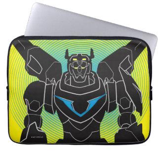 Voltron   Voltron schwarze Silhouette Laptop Sleeve