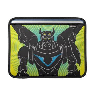Voltron   Voltron schwarze Silhouette MacBook Air Sleeve