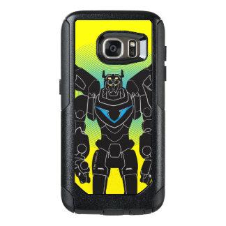 Voltron   Voltron schwarze Silhouette OtterBox Samsung Galaxy S7 Hülle