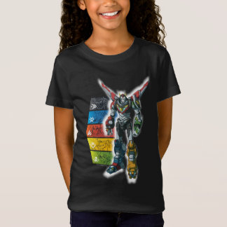 Voltron   Voltron und Piloten grafisch T-Shirt