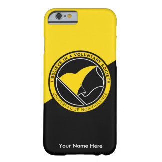 Voluntaryist Barely There iPhone 6 Hülle