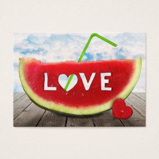 vom Sommer mit Liebe Visitenkarte