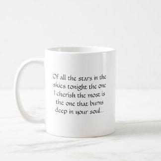Von allen Sternen in den Himmeln heute Abend… Kaffeetasse