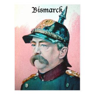 Von Bismarck mit Titel (public domain) Postkarte