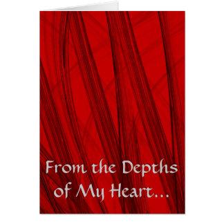 Von den Tiefen meines Herzens… Karte
