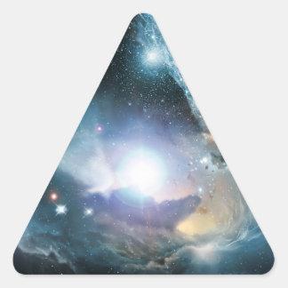 Von der Asche der ersten Sterne Dreieckiger Aufkleber