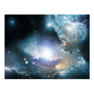 Von der Asche der ersten Sterne Postkarte