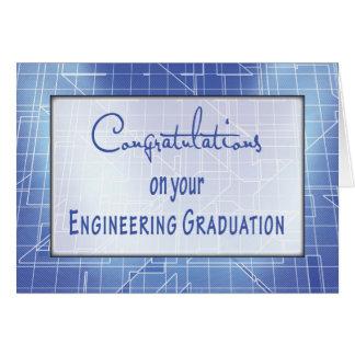 Von der Gruppe Abschluss Congratulati ausführend Karte