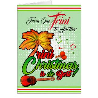 Von einem Trini zu anderen - Weihnachten Karte