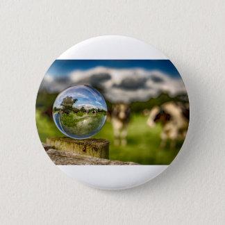 Von Gras zu Glas Runder Button 5,7 Cm