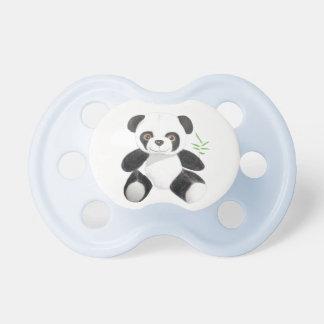 Von Hand gezeichneter Panda-Plüsch Kkukku Schnuller