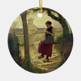 Von ihrer Love träumen, 1901 Weinachtsornamente