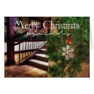 Von meinem Haus zu Ihrem Weihnachtskarte Karte