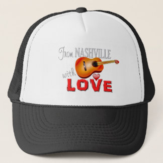 Von Nashville mit Liebe -- Fernlastfahrer-Hut Truckerkappe