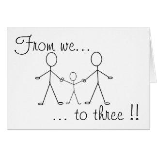 Von uns bis drei!! karte
