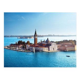 Von Venedig mit Liebe-Postkarte