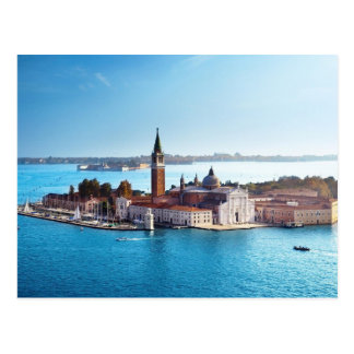 Von Venedig mit Liebe-Postkarte Postkarte