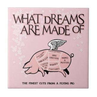 Von welchen Träumen gemacht werden - Fliese