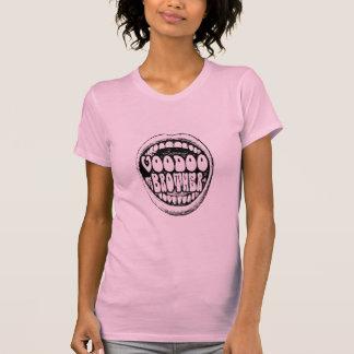 Voodoo-Bruder-laute Mund-Damen T T-Shirt