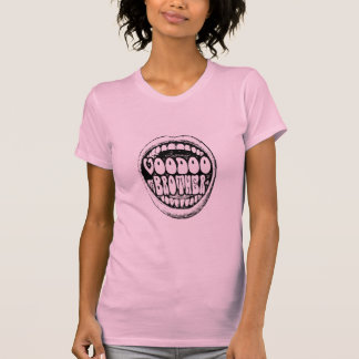 Voodoo-Bruder-laute Mund-Damen T Shirts