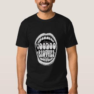 Voodoo-Bruder-lauter Mund T T-shirt